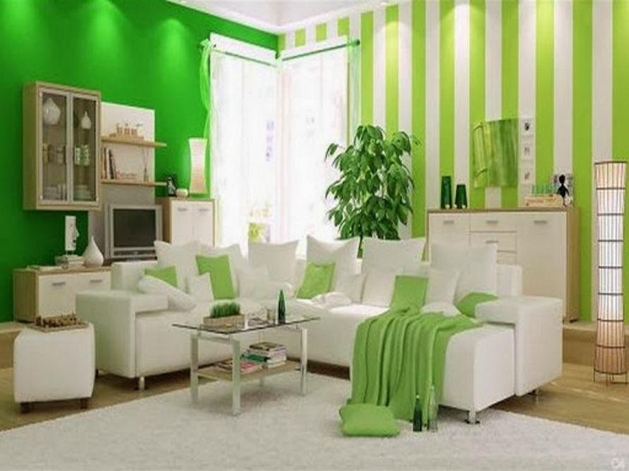 ide cat dinding ruang tamu minimalis