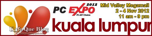 PC EXPO NOVEMBER 2012 MIDVALLEY,BILA PC EXPO MID VALLEY NOVEMBER 2012,pc expo 2012 mid valley kuala lumpur,jadual masa pc expo 2012 2 - 4 november 2012,aktiviti acara jualan lelong di pc expo 2012,hadiah pc expo 2012,lucky draw,pc expo 2012,tarikh pc expo 2012