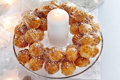 Profiterole wreath Recipe
