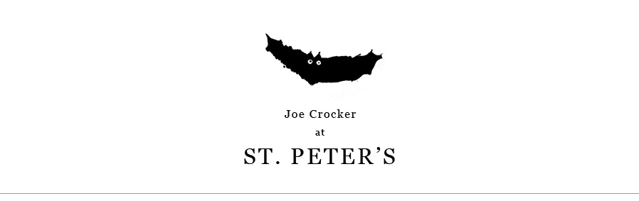 Joe Crocker at St. Peter's