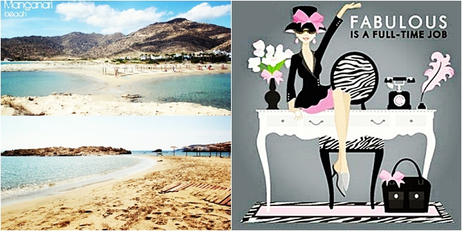 Instagram @lelazivanovic. Manganari beach, Ios. Best beaches in Ios. Best girly quotes ever!