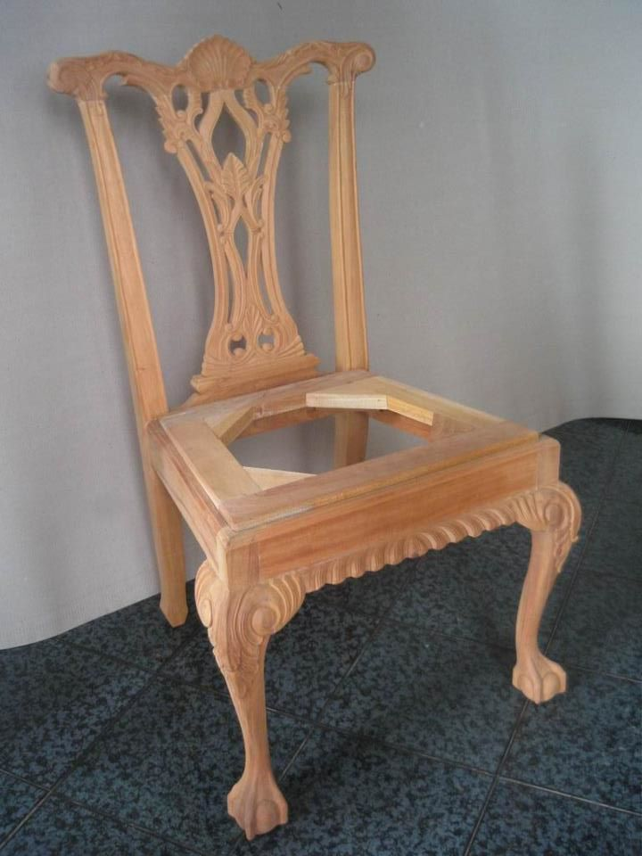 Unfinished mahogany furniture unfinished classic for Furniture jepara