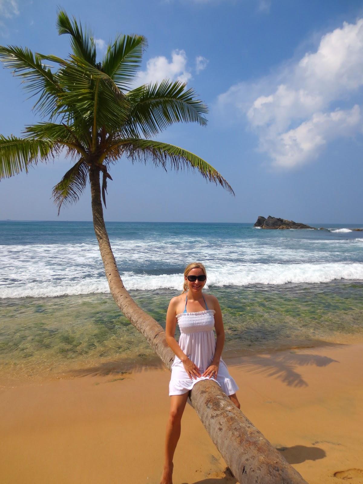 A Sakura Story Sri Lanka Dalawella Beach