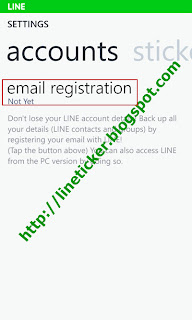 3.เลือก email registration