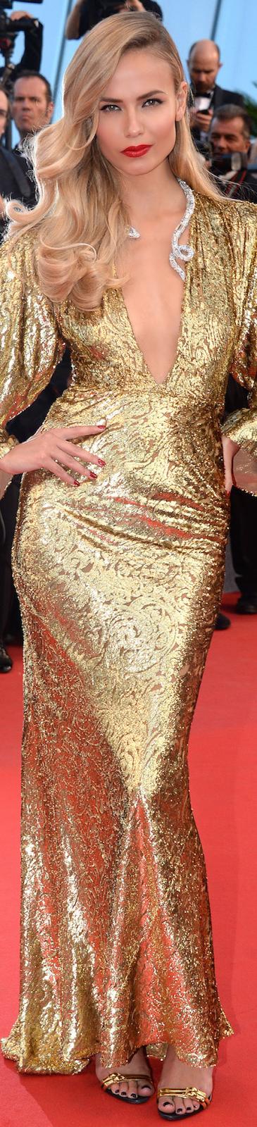 Natasha Poly Cannes Flim Festival 2015