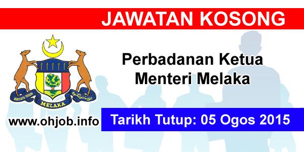 Jawatan Kerja Kosong Perbadanan Ketua Menteri Melaka logo www.ohjob.info ogos 2015