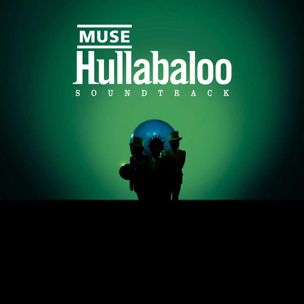 Muse album cover series hullabaloo soundtrack bows and curtseys