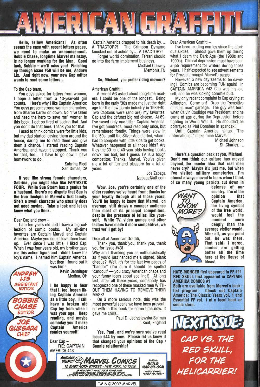 Captain America (1998) Issue #47 #54 - English 34