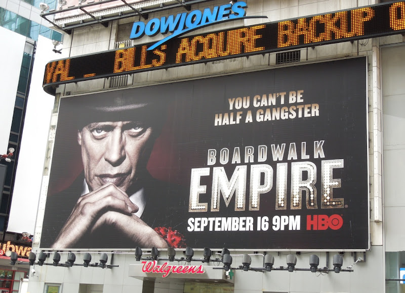 Boardwalk Empire season 3 billboard Times Square