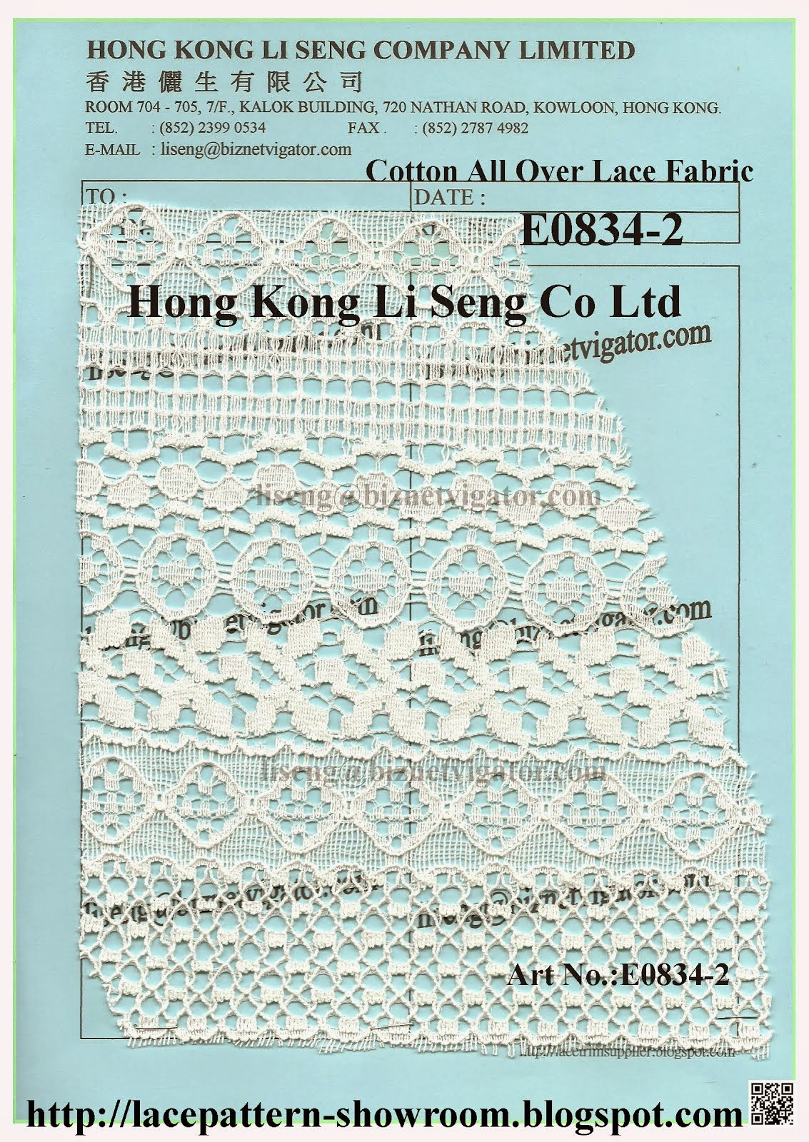 Cotton All Over Fabric Wholesaler Manufacturer Supplier - Hong Kong Li Seng Co Ltd
