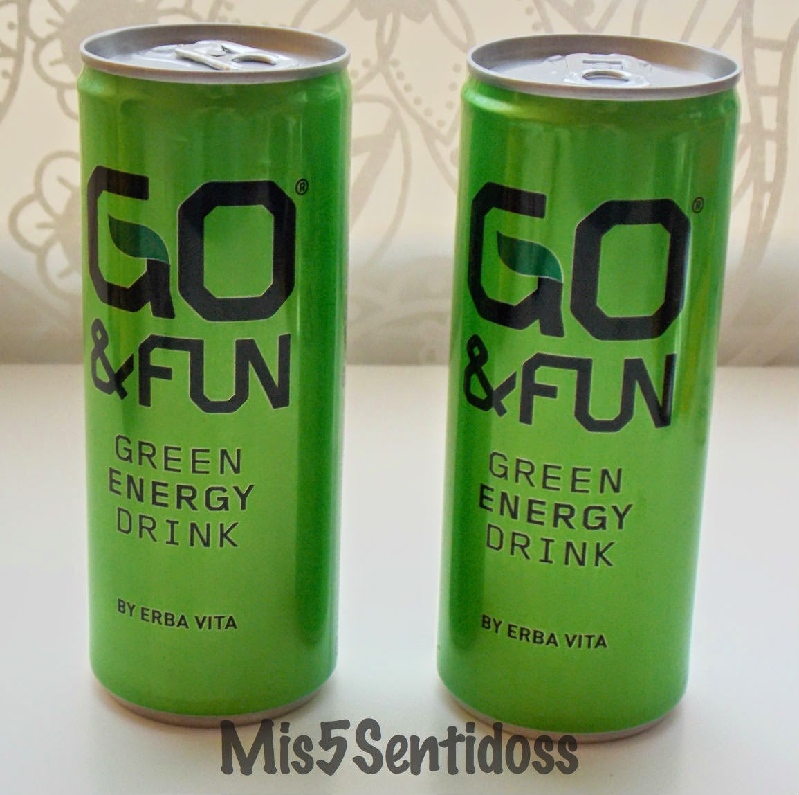Degustabox Abril 2014 go&fun bebida energética
