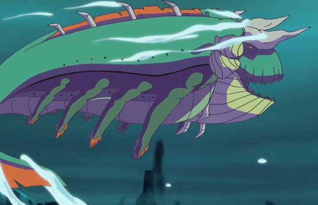 This Poseidon adventure...