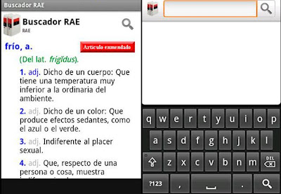 Diccionario de la RAE: las palabras en tu móvil