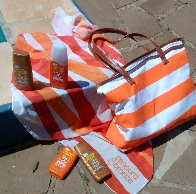 Recebido, Cenoura & Bronze, Hypermarcas, Resenha, Verão 2015, Verão, Protetor Solar, Proteção, Sol, Sun, Piscina, Praia, Bolsa, Canga