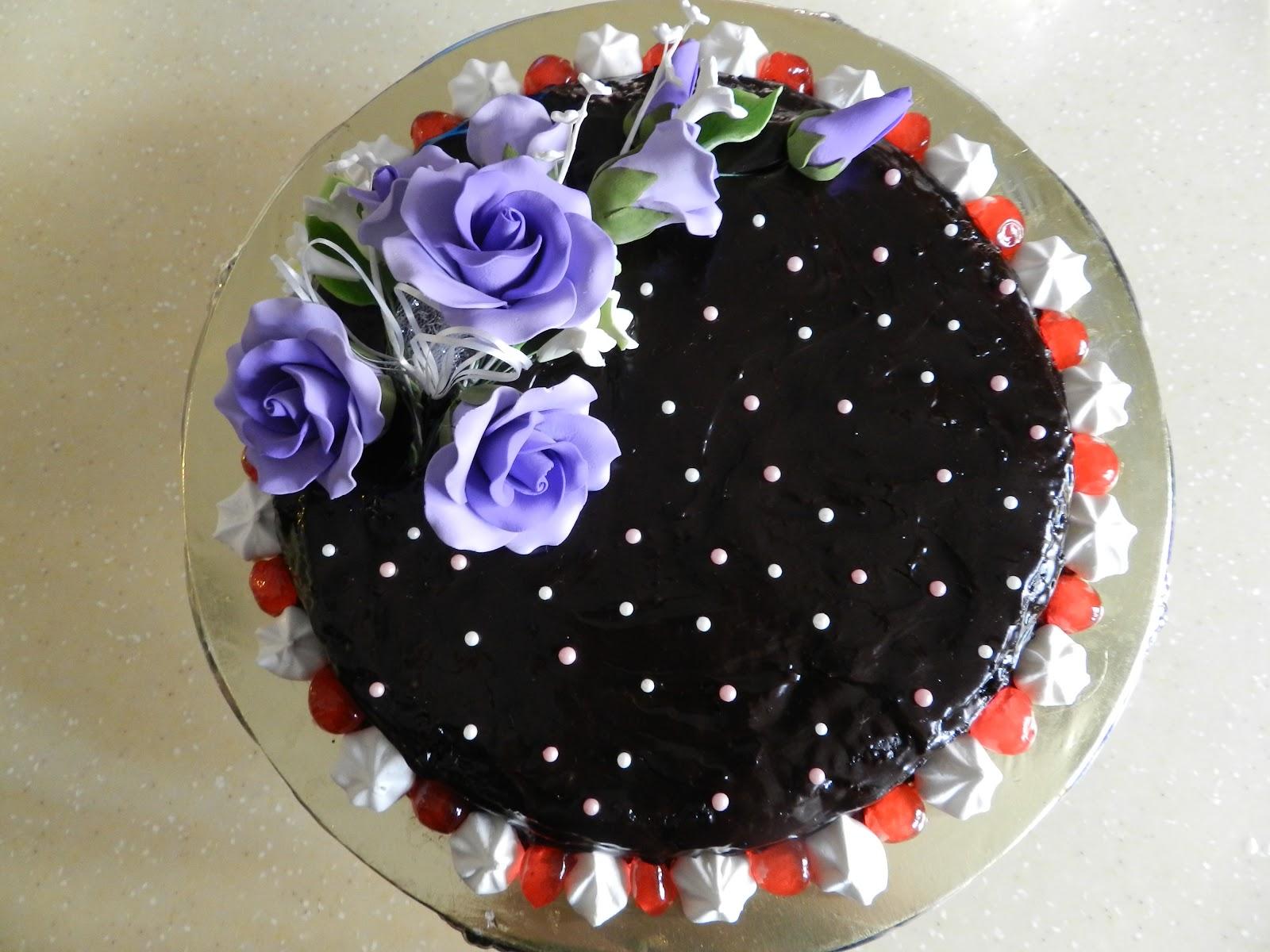 Taste Of Love Topping Kek Chocolate
