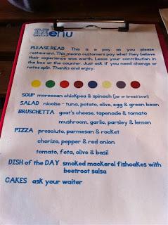 Stitch and Bear - Daily menu at Pay As You Pay Killarney