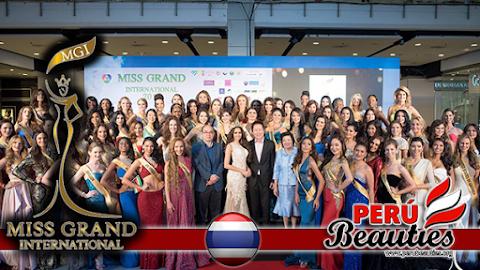 Conferencia de prensa y presentación de candidatas - Miss Grand International 2015 (Video)