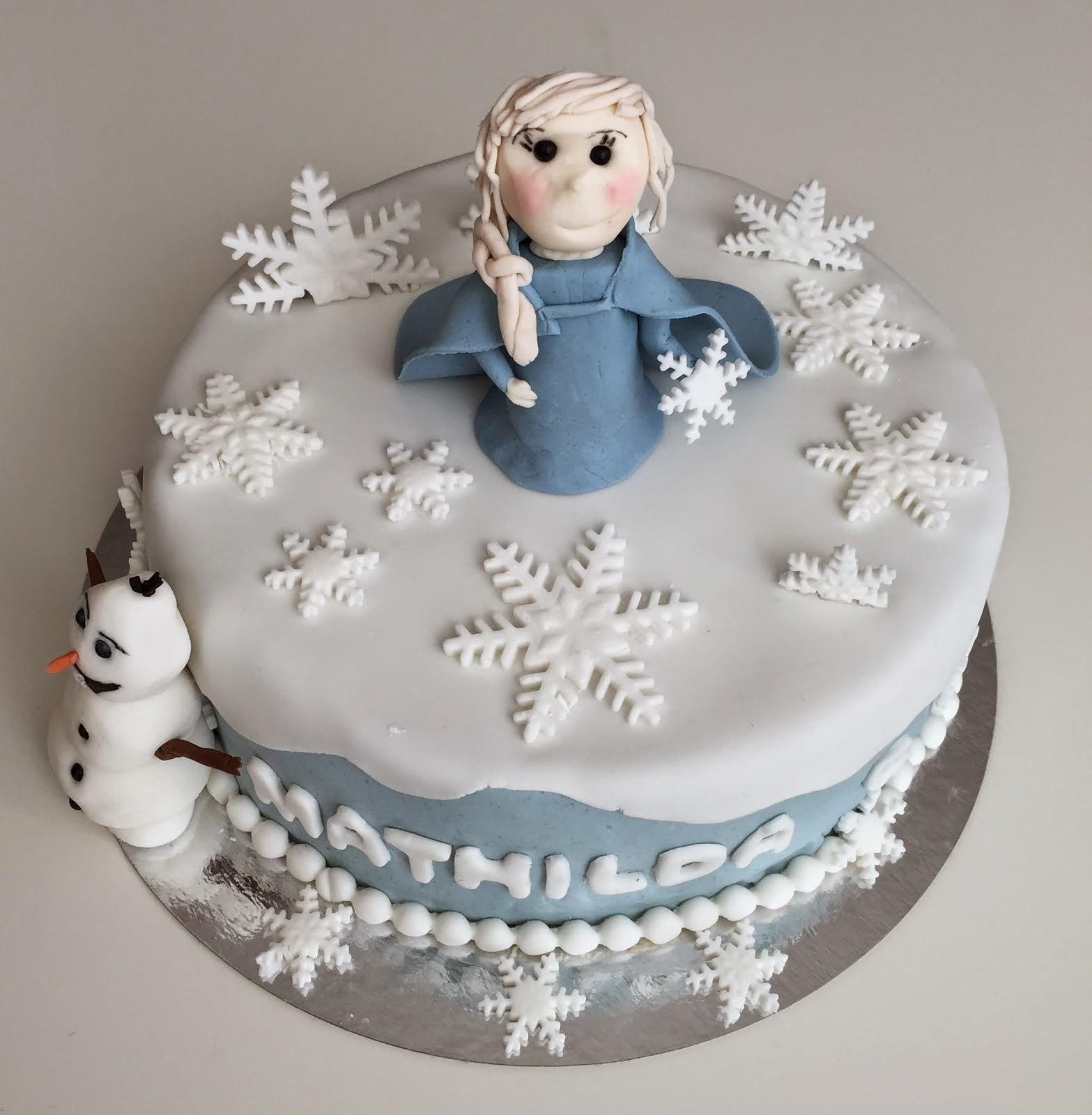 Frosttårta / Frozencake