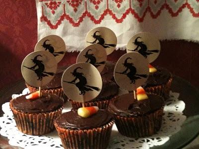 Halloween - cupcake