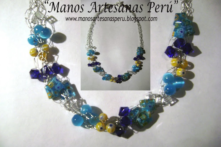 NEW!!! Carribean Sea_necklace