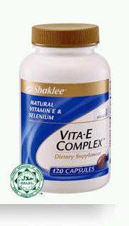 Vita E Complex Set Kesuburan Suami Isteri Shaklee Shaina Shop