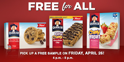 Free For All Fun at Kroger with Quaker – Review and Reader Giveaway #QuakerFreeForAll