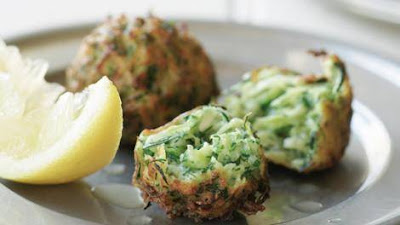 Zucchini Fritters With Dill Recipe