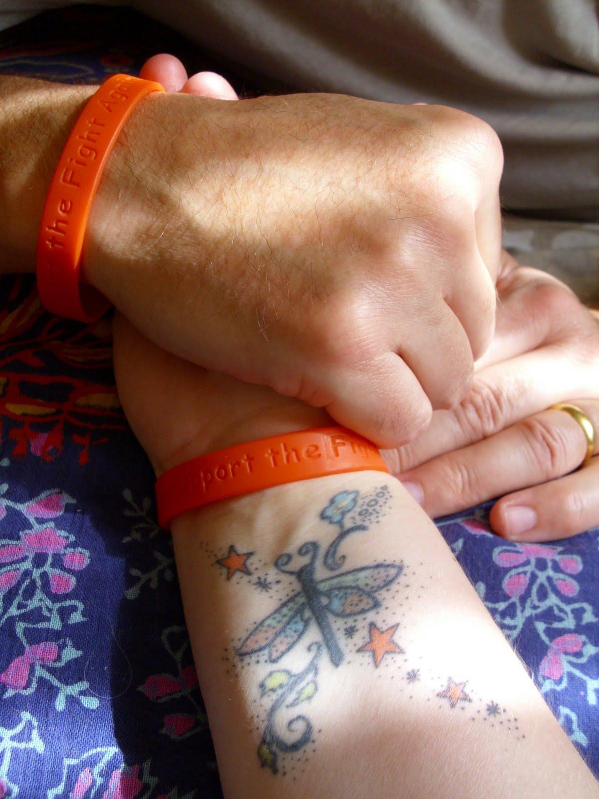 My brother andrew motor neurone disease awareness bands for Bulbar motor neuron disease