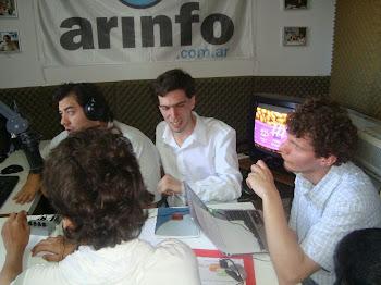 DÚPLEX CADA 15 DÍAS CON EL PROGRAMA PALABRAS EN CONJUNTO EN RADIO ARINFO (BS AIRES)