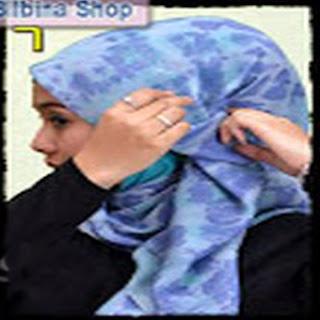 Cara Memakai Jilbab Kreasi Jilbab Paris Segiempat Modis Terbaru
