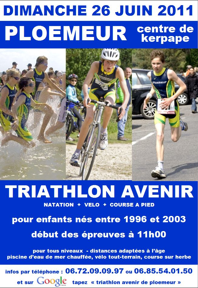 triathlon inscription