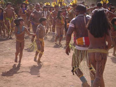 Suku Xingu, Suku Yang Masih Telanjang