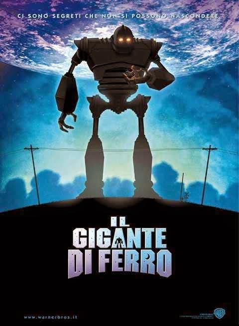 Il Gigante di Ferro poster recensione
