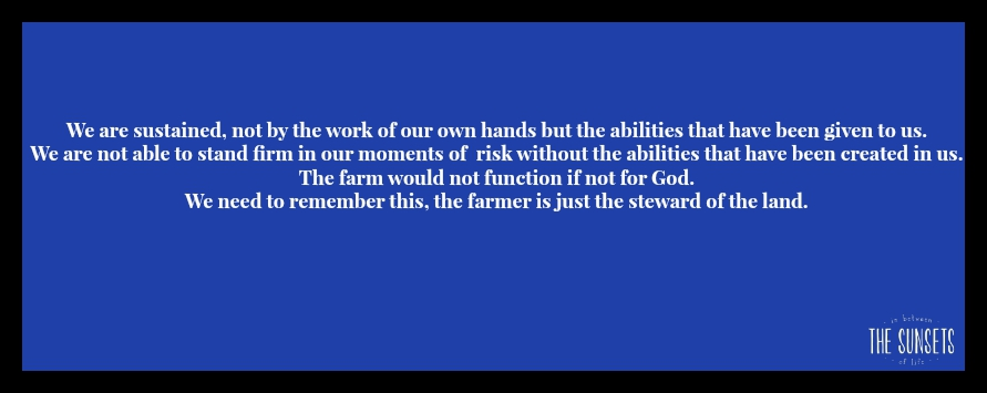 Our Farm Statement/Motto