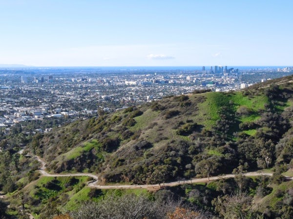 Runyon Canyon clear day view