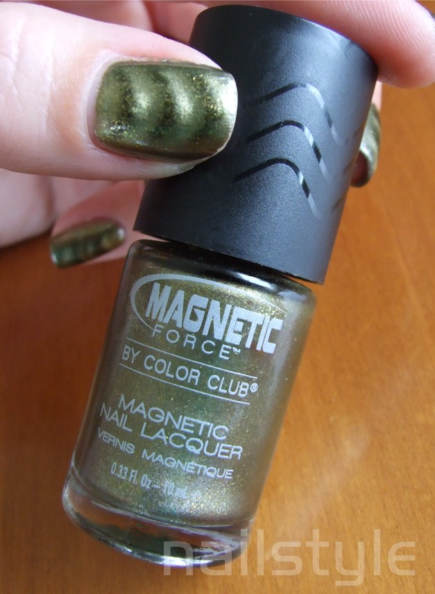 Nailstyle: Color Club Magnetic Force REVIEW - Sci-Fi