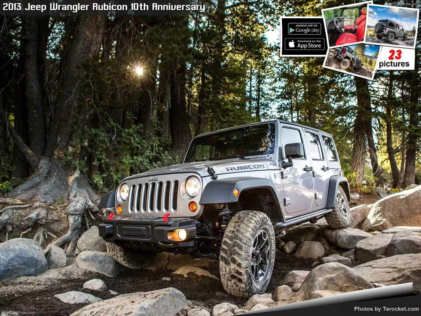 Hình ảnh xe ô tô Jeep Wrangler Rubicon 10th Anniversary 2013 & nội ngoại thất