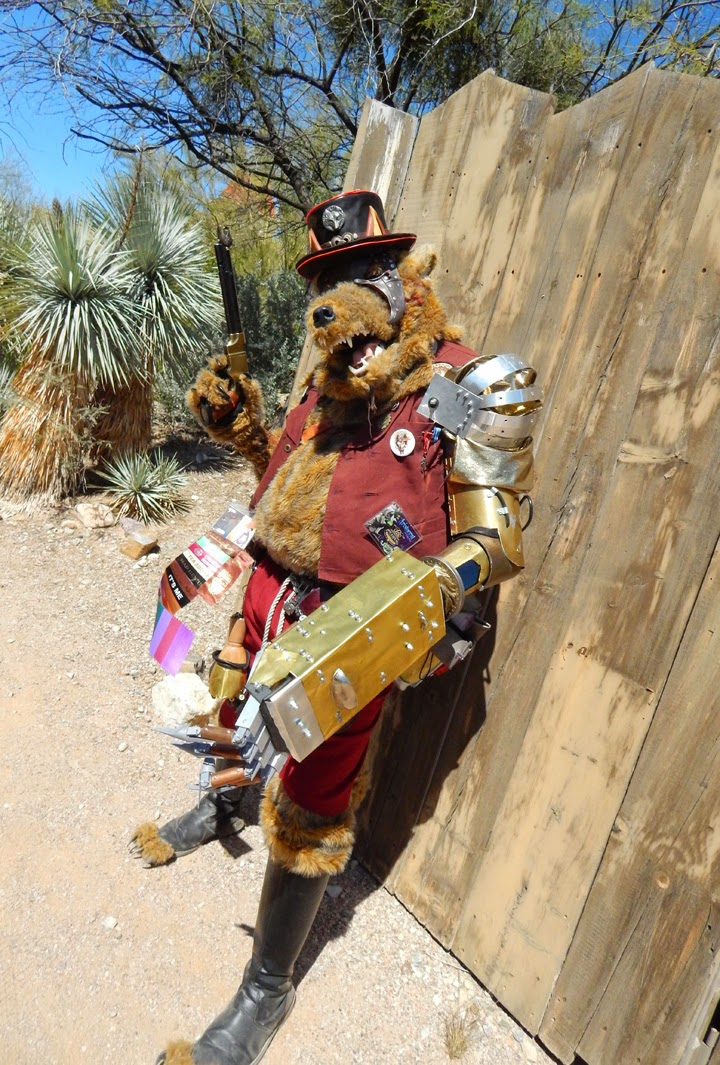 Wild Wild West Con cosplay  furry