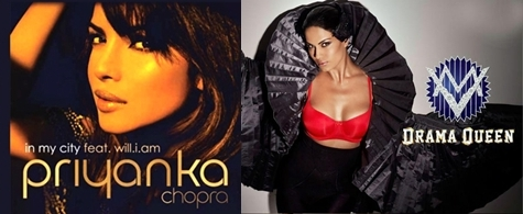 Will i am Drama Queen Priyanka chopra veena malik