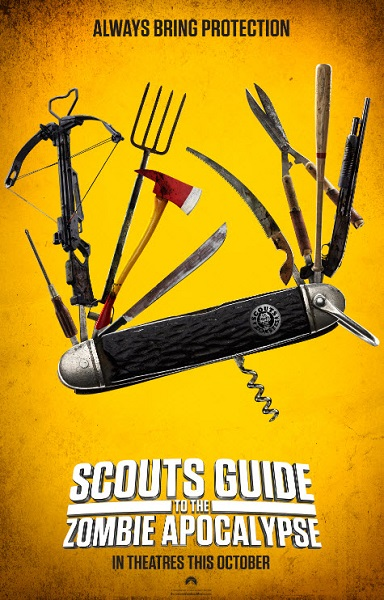 Film Scouts Guide to the Zombie Apocalypse 2015