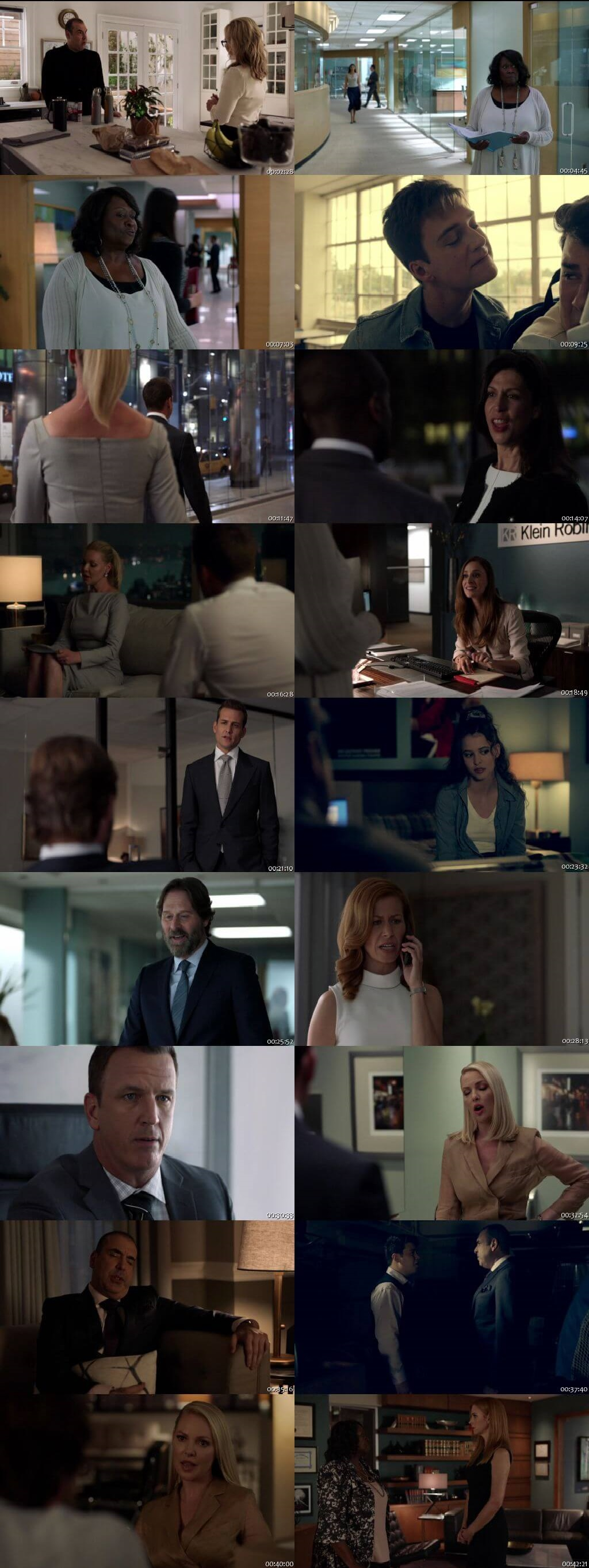 Screenshots Of English Show Suits Season 08 Episode 08 2018 WEB-DL 720P 300MB