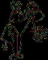 Cuidemos la bendición del matrimonio. Una ilustración de una boda feliz en caricatura El Árbol Verde.