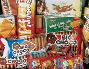 Le magasin d'usine de la biscuiterie Uninon Biscuits