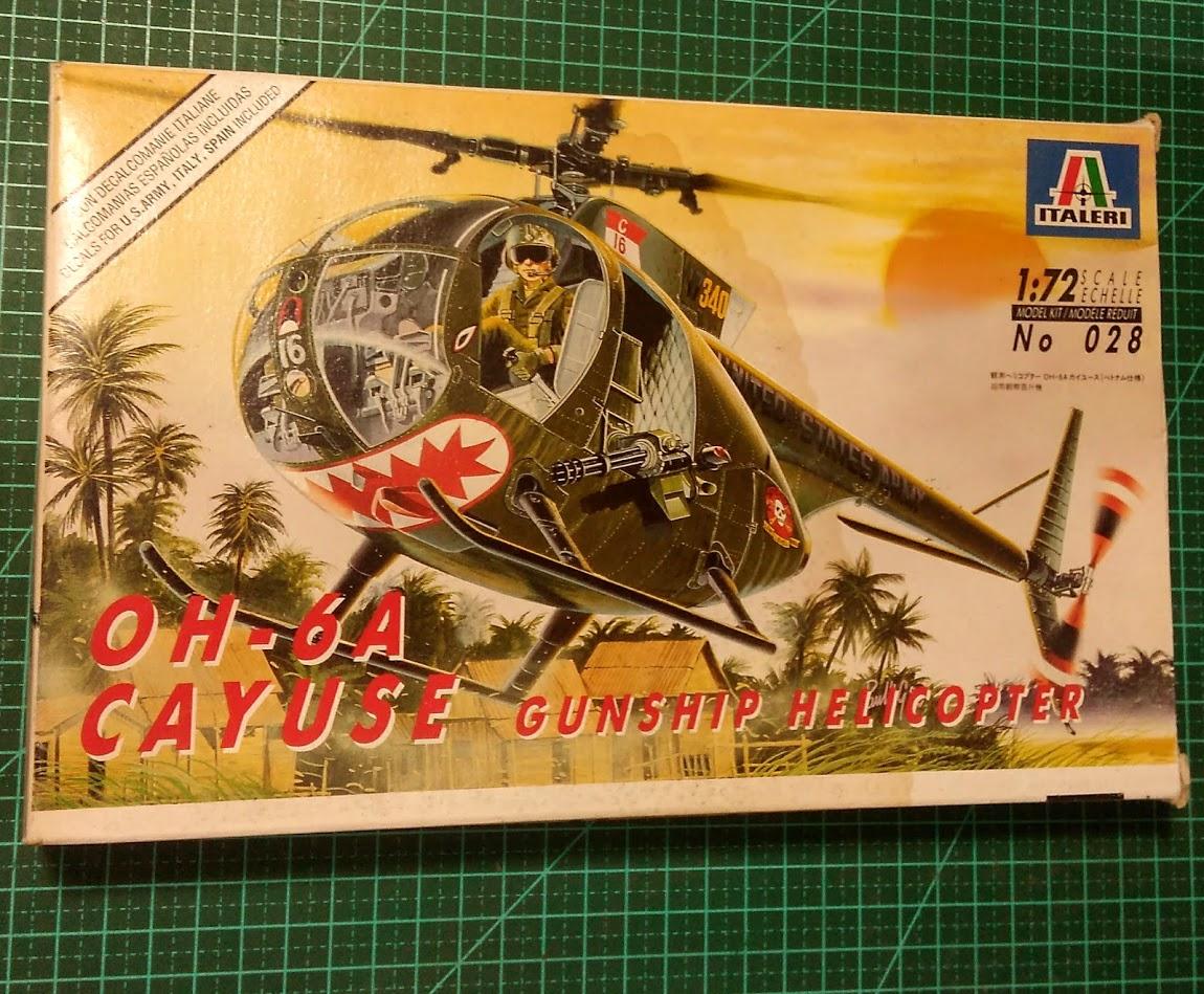 OH-6A CAYUSE - 1/72 - ITALERI