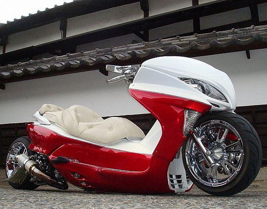 Honda Forza 300 Tuning >> MOTORCYCLE 74: Japanese custom scooters