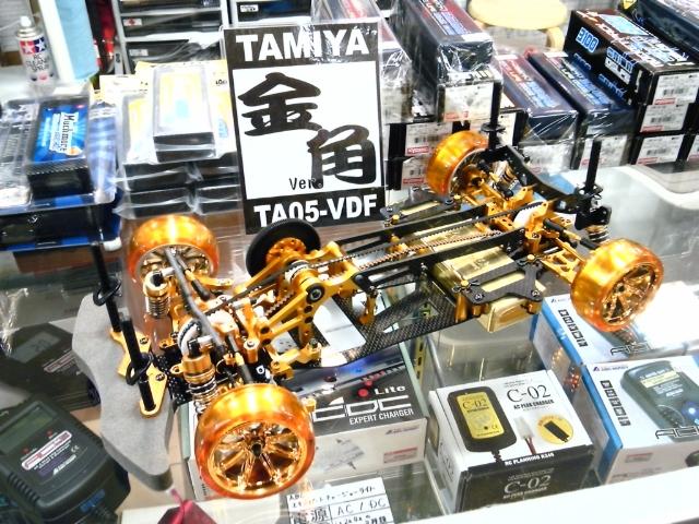 Ta05 Vdf 2 : Countersteer overdosed tamiya ta vdf goldie