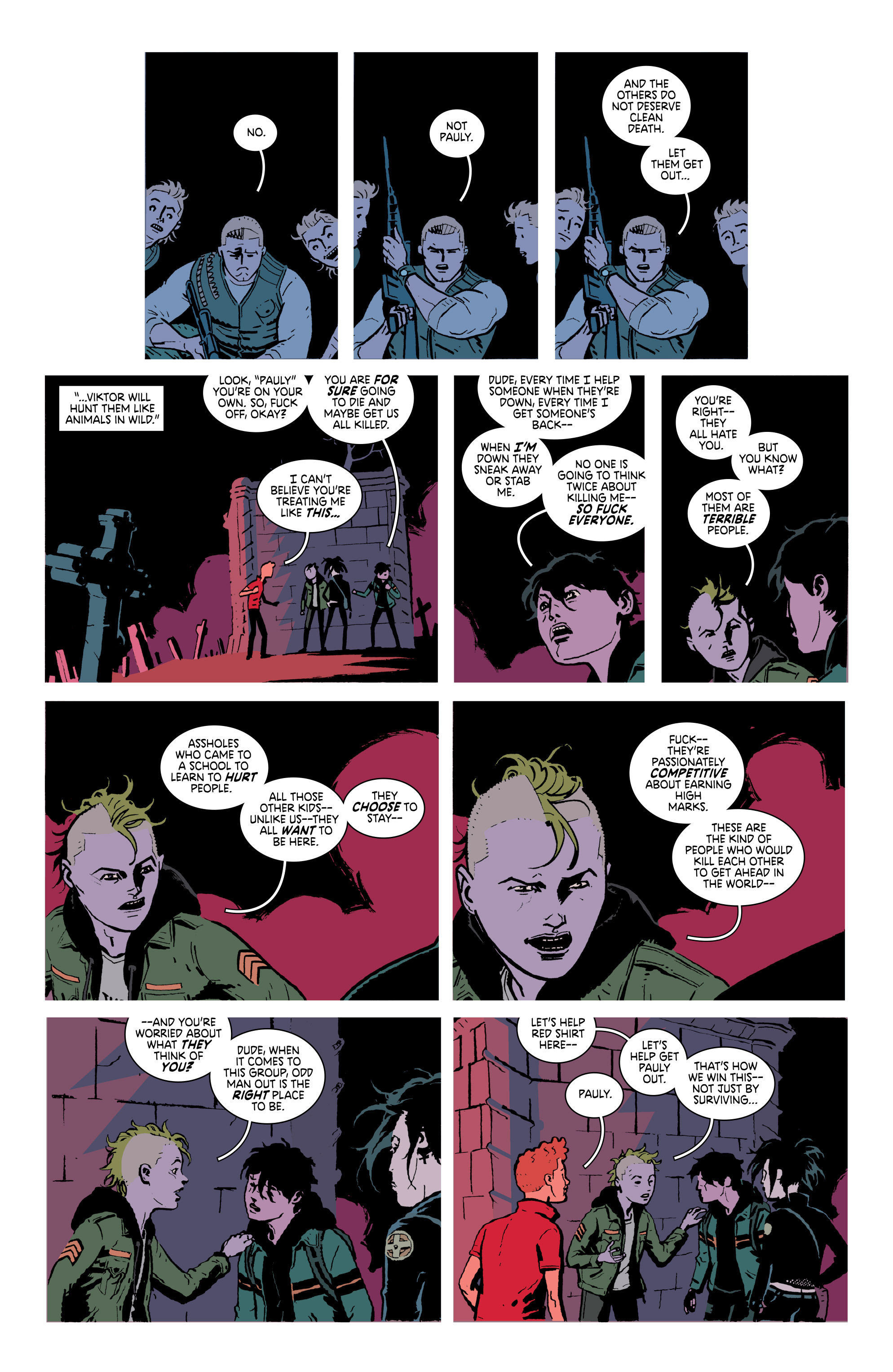 Read online Deadly Class comic -  Issue #18 - 5