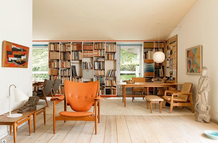 Una casa de estilo retro escandinavo a scandinavian retro - Casas estilo escandinavo ...