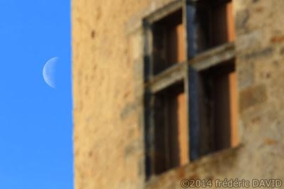 ciel Lune château Blandy-les-Tours Seine-et-Marne