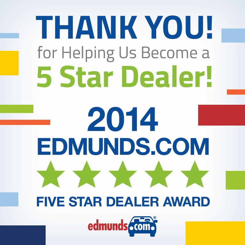 Chesrown Earns Edmunds.com Five Star Dealer Award